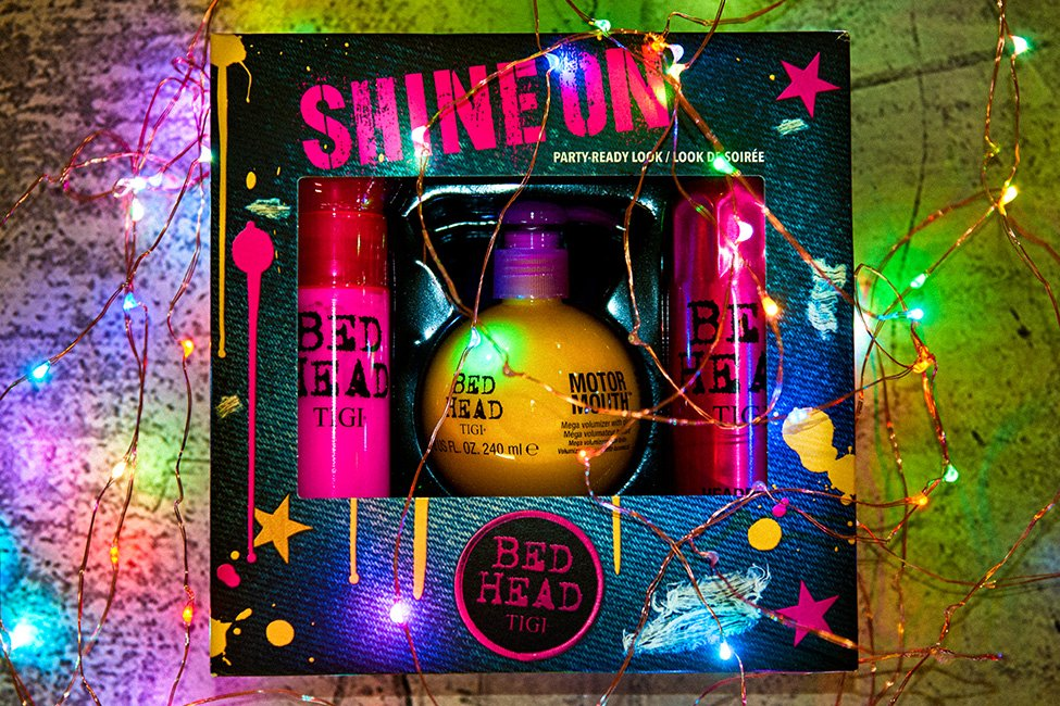 TIGI SHINE ON gift sets available in all Forresters hair salons this Christmas